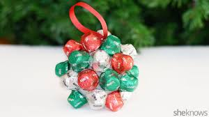 Make Christmas Decorations At Home by 3 Cute Christmas Ornaments Kids Can Make With Candy