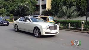 bentley mulsanne speed white bentley mulsanne in bangalore india youtube