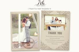thank you card unique design thank you cards with photo insert
