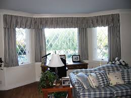 country style curtains for bay windows home design ideas