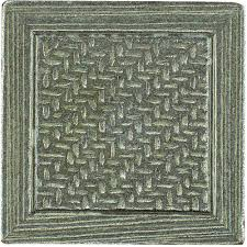 Home Depot Decorative Tile Marazzi Montagna Nickel 2 In X 2 In Metal Resin Basketweave