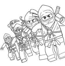 25 ninjago coloring pages coloringstar