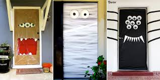 Diy Halloween Wall Decorations 10 Diy Halloween Front Door Decor Ideas