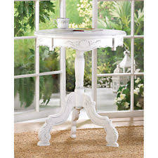 Shabby Chic Chair by Tables In Shape Round Type Accent Table Ebay