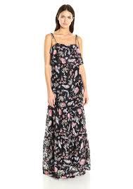 guess guess women u0027s sleeveless indie lace maxi dress xs dresses