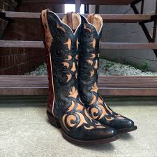 motorcycle boots store ariat ladies sevilla red blue tan americana cowgirl boots 10014919