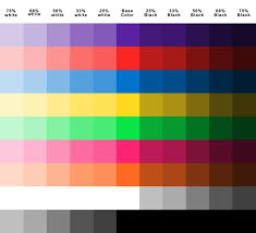 nice color chart for plasti dip plasti dipped cars community