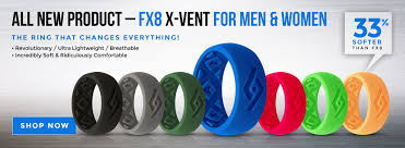 rubber wedding rings silicone wedding bands fixate designs