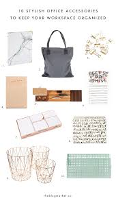 10 stylish office accessories to keep your workspace organized