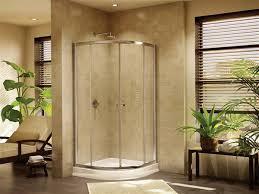 40 Inch Shower Door Fleurco Banyo Amalfi 32 Frameless Curved Glass Sliding