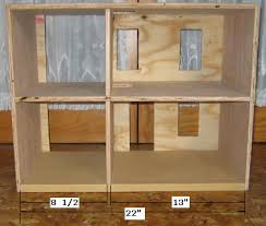 Free Miniature Dollhouse Plans by Free Doll House Plans How To Build A Dollhouse