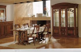 dining room built in china cabinet dining room traditional with