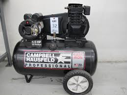 campbell hausfeld 4 5 hp 20 gallon air compressor s n 0609188