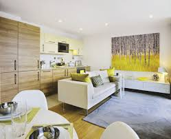 small open plan kitchen and living room ideas