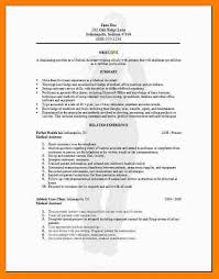 medical assistant resume template pediatric medical assistant