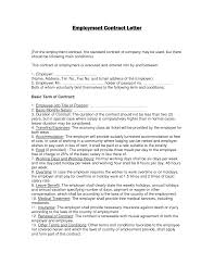 Sample Of Contract Letter For Business by Sample Employment Contract 1 728 Jpg Cb 1275287496 Employee