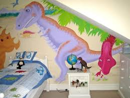 dinosaurs mural dinosaur bedroom mural