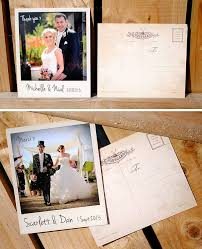 personalised instant photo wedding thank you cards by wedfest
