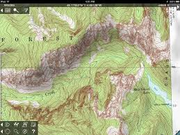 How To Read A Topographic Map Topo Maps For Iphone And Ipad Review Man Makes Fire