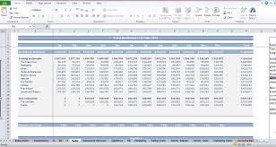 restaurant budget template cfotemplates com