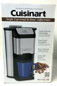 Single Serve Grind And Brew Single Cup Grind And Brew Coffee Maker