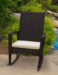Rocking Chair Runner The Portside Plantation All Weather Wicker Rocking Chair Set
