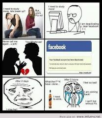Funny Break Up Memes - with a girl or with facebook
