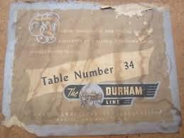 34 folding card table 1950 s vintage durham table no 34 folding card table ebay