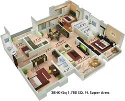 1050 sq ft 2 bhk 2t apartment for sale in colors housing krisha
