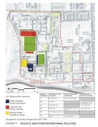 key arena floor plan georgetown university u0027s revised 20 year campus plan revealed