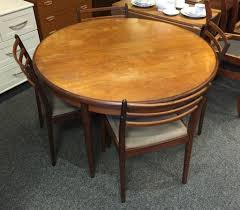 G Plan Dining Room Furniture by Vintage G Plan Round Extending Dining Table With 4 Matching Chairs