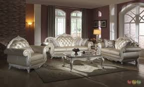 leather sofa sets for living room paris ultra modern white living