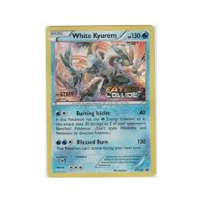 white kyurem x y promo xy128 white kyurem staff from magic madhouse uk