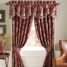 dated window treatments interior enticing croscill valances with beautiful unique motif