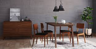 Kitchen Chairs by Buy Bristol Dining Table U0026 4 Mokuzai 木 Dining Chairs Online Brosa