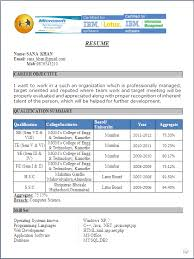 Sample Resume Formats For Freshers by Free Download Resume Sample Fresher You Might Have Noticed That