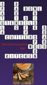 Woodworking Tools Crossword Puzzle Clue by Kitchen Utensils One Clue Crossword Cheats