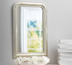 Pottery Barn Mirrors Bathroom by 239 Bonaparte Silver Gilt Wall Mirror Http Www Potterybarn Com