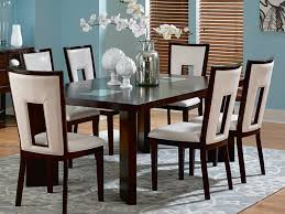 Modern Leather Dining Chairs Kitchen Chairs Modern Dining Sets In White Theme With