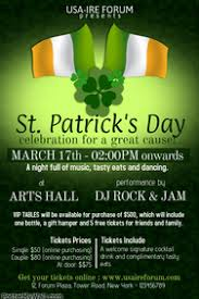 example of a flyer for an event st patrick u0027s day poster templates postermywall