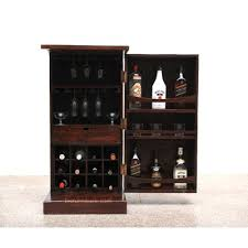 Compact Bar Cabinet Compact Yet Spacious Bar Cabinet Home Bar Furniture By Bic India