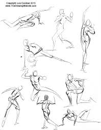 the key to flow power and dynamism u2013 mastering gesturethe drawing