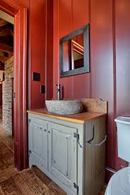 Red Bathroom Vanity Units by Bathrooms Design Bathroom With Glass Vanity Featured Bottom
