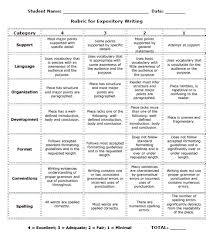 math worksheet   narrative writing rubric   th grade  th   th grade egusd writing   Expository Writing