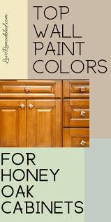 what paint colors go well with honey oak cabinets wall kitchen paint colors with honey oak cabinets