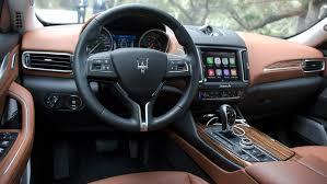 maserati steering wheel driving first drive 2017 maserati levante