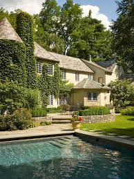 Old World Home Decorating Ideas Photos Hgtv Old World Home Exterior With Backyard Pool Loversiq