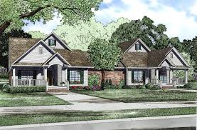 multifamily home plans multi family plan 52764 at familyhomeplans
