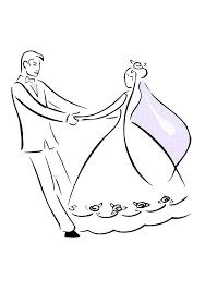 bride groom dance wedding coloring coloring sun