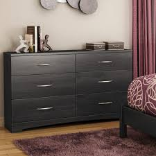 Grey Oak Furniture South Shore Step One 6 Drawer Grey Oak Dresser 3137010 The Home
